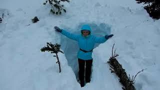 Ергаки 8 марта - лыжный поход