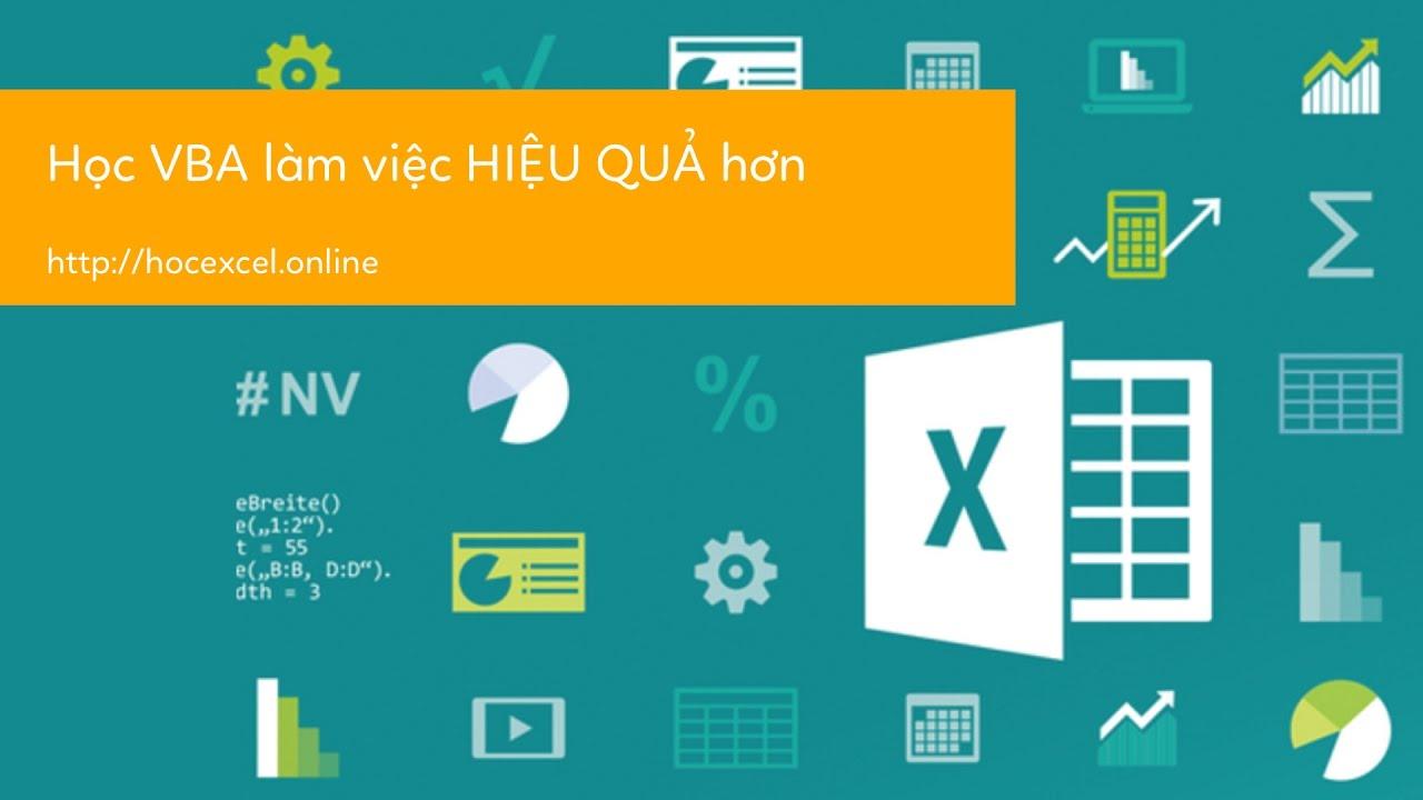 Học VBA trong Excel   05 Hướng dẫn loại bỏ code VBA trong Excel