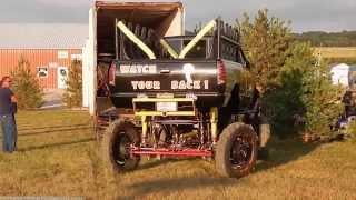 Unloading Monster Truck Cobra