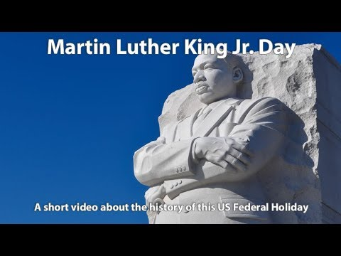 Holidays In A Hurry: Martin Luther King Jr. Day
