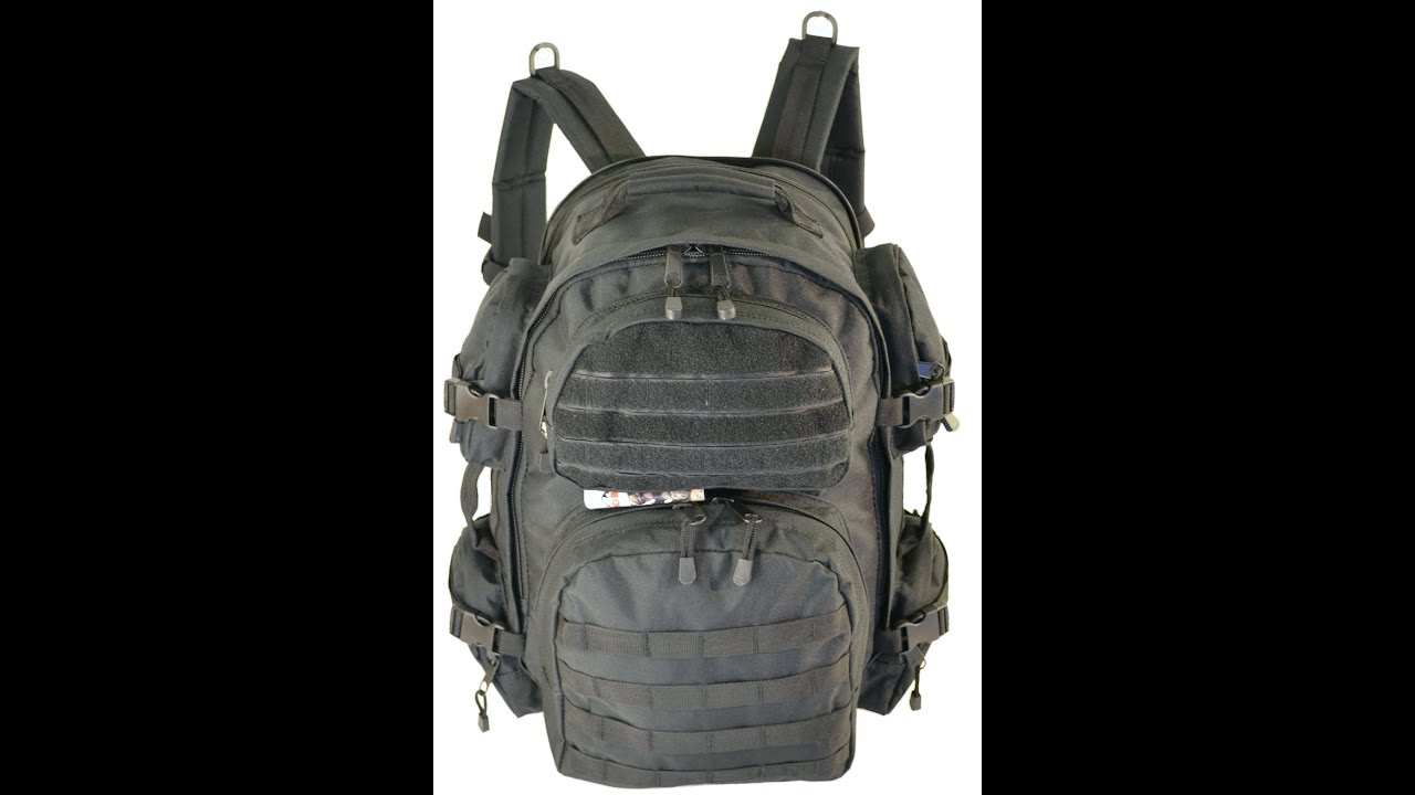 Rebel Tactical Assault 3 Day Pack Tactical Military MOLLE Backpack ...