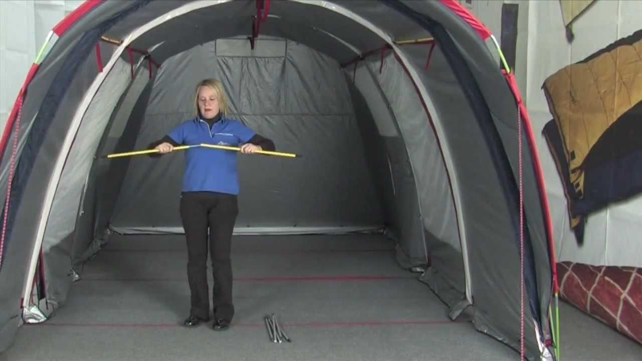 Montaggio tende da campeggio TUNNEL 4/5/6 Bertoni - YouTube