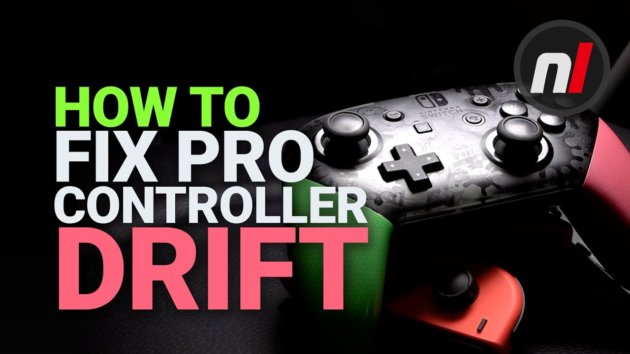 How You Can Fix a Drifting Pro Controller Stick - Nintendo Switch