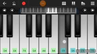 meri zindagi sawari mujako gale lagale piano tutorial