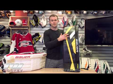 Bauer Goalie Leg Pad Insight (Reactor and Supreme) - YouTube