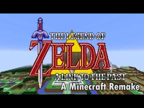 The Legend Of Zelda A Link To The Past: A Minecraft Remake (Download In Description)
