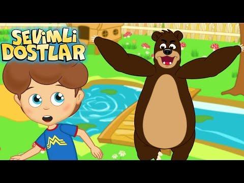 Kaç Kaç Kaç - Sevimli Dostlar çizgi film çocuk şarkıları 2017 - Adisebaba TV Bebek Şarkıları