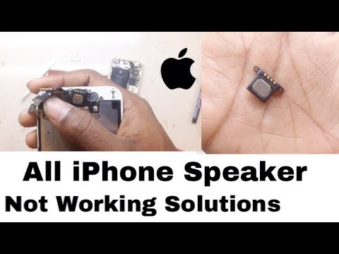All iPhone Speaker Not Working Solution 100% Solution HINDi By Ajay Dhawan