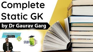 Static GK Course by Dr Gaurav Garg Launched - Find out the content and Fee, on Study IQ APP