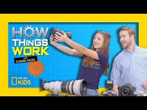 How Digital Cameras Work | How Things Work With Kamri Noel