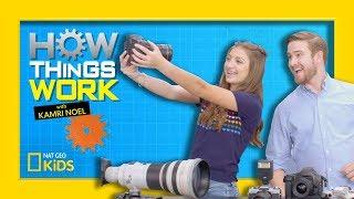 How Digital Cameras Work   How Things Work with Kamri Noel