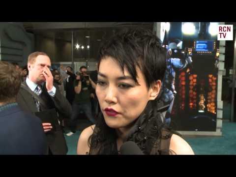 Rinko Kikuchi Interview Pacific Rim European Premiere