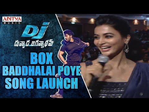 Box Baddhalai Poye Song Launch @ DJ Audio...
