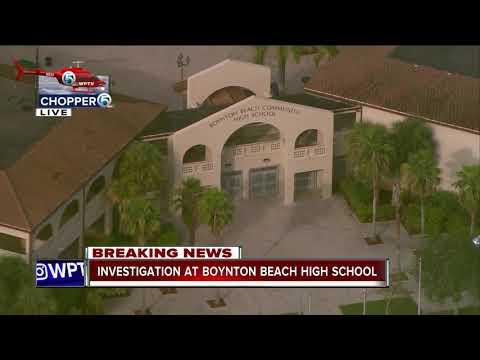 Investigation at Boynton Beach High School