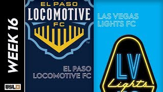 El Paso Locomotive FC vs. Las Vegas Lights FC: June 22nd, 2019