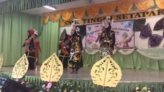 Pesta budaya dan seni SMK TINGGI SETAPAK