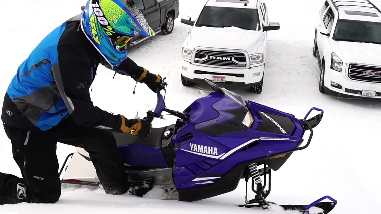 We Ride the 2018 Yamaha SnoScoot 200 4-stroke