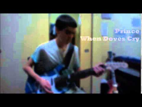Prince When Doves Cry Intro Guitar Cover - YouTube
