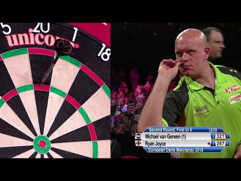 NINE-DARTER! Van Gerwen lands first European Tour nine in FIVE YEARS!