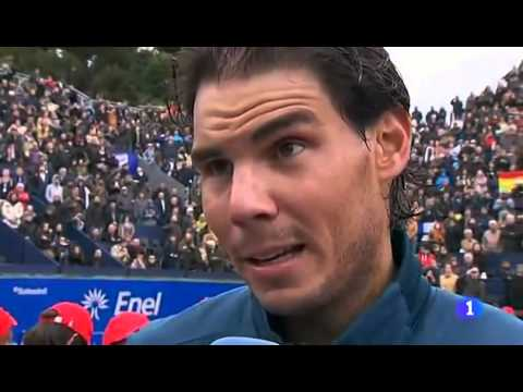 Rafael Nadal wins 2013 Barcelona Open
