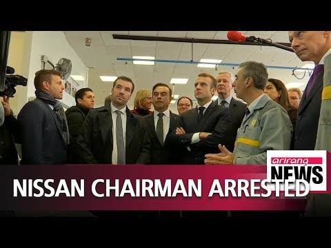 Nissan boss Carlos Ghosn arrested for suspected financial misconduct