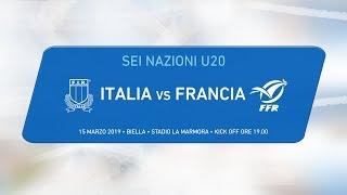 6 nazioni U20 – Italia v Francia