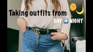 3 Ways to Tขrn An Outfit From Day to Night!
