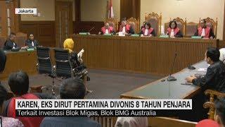 Download Video Mantan Dirut Pertamina Karen Agustiawan Divonis 8 Tahun Penjara MP3 3GP MP4