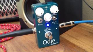 Odie overdrive, testing you tube. This is a great pedal