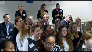 Wethouder Dijkman opent Stagebijeenkomst Zadkine College - Boekenberg / Spijkenisse 2017