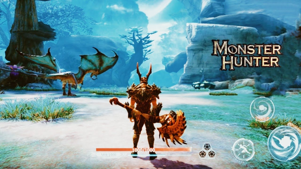 Yeager Android & iOS Gameplay I Monster Hunter Style - YouTube