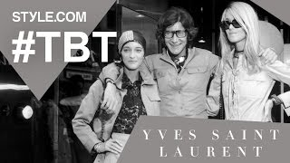 The Creative Genius of Yves Saint Laurent - #TBT with Tim Blanks - Style.com