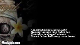 Video Lirik Lagu Bali Lolot feat Tiari Ngulat Tresna Album Nyujuh Langit