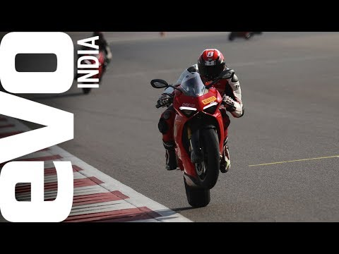 Alessandro Valia's blitzing lap at the BIC on the Ducati Panigale V4S!
