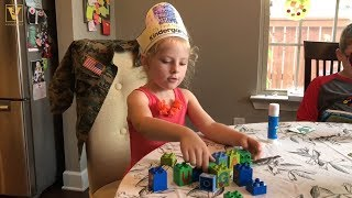 Can colorful blocks prep preschoolers for a future in math? thumbnail