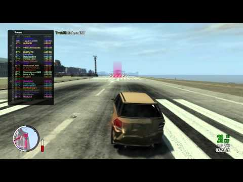 GTA IV - Rockstar Social Club Official Multiplayer Event - Massive Race