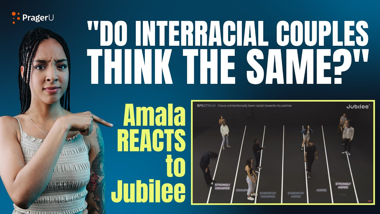 Do Interracial Couples Think the Same? - Amala Reacts to Jubilee