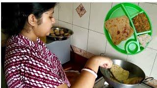 Bengali Vlog : রবিবারের ব্রেকফাস্ট রান্না : পরোটা , ডিম তড়কা আর সুজি | Sunday Morning Breakfast