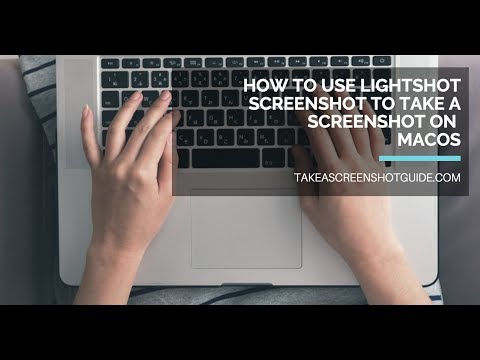 How to use Lightshot Screenshot to take a screenshot on macOS