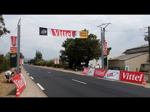 Tour de France 2017 - Stage 19 - Embrun - Salon de Provence (15k from finish in Mallemort)