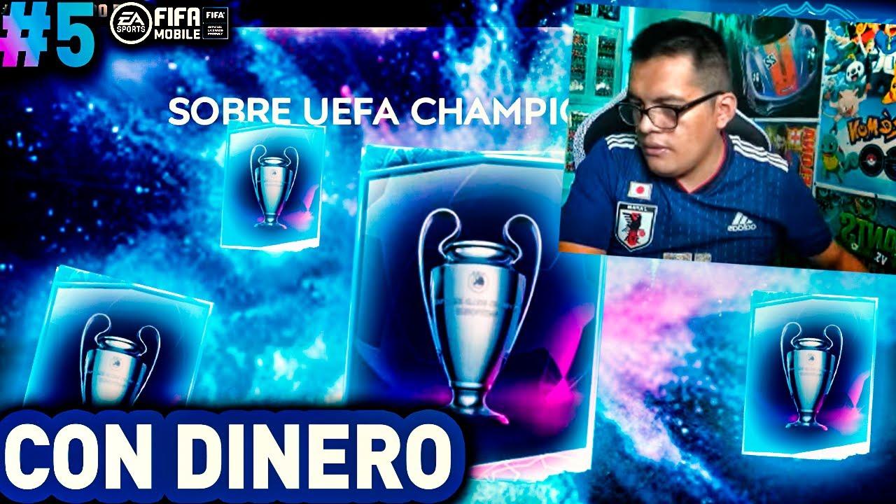 ABRO LO NUEVOS SOBRES DE LA CHAMPIONS LEAGUE EN FIFA MOBILE *Para Llorar* #5
