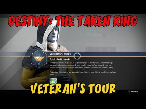 DESTINY: THE TAKEN KING - Veteran's Quest! ★