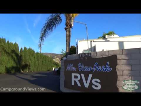 Mountain View RV Park Santa Paula California CA