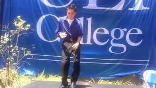 Christian Vargas Dancing cumbia