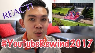 Youtube Rewind 2017: The Shape of 2017 REACTION | Delon Serino