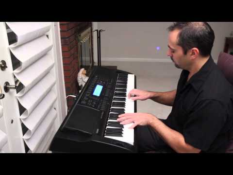 Moonlight Sonata on a Casio WK500