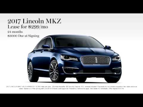 Lincoln Mkz Lease >> Nick Mayer Lincoln Westlake August Sales 2017 Lincoln Mkz Lease For
