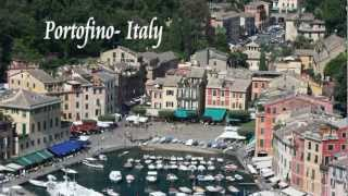 "Spectacular Portofino - Italy : ferry from Santa Margherita - Dalida -""I found my love in Portofino"""
