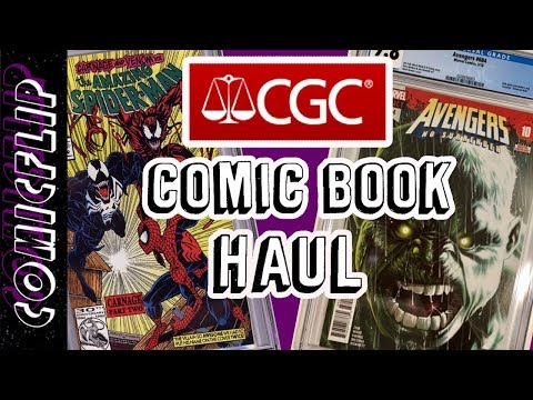 CGC Graded Comic Book Haul #2 - comicflip