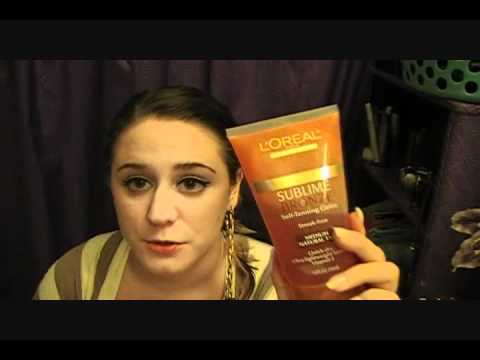 Loreal Sublime Bronze Self Tanning Gel Review